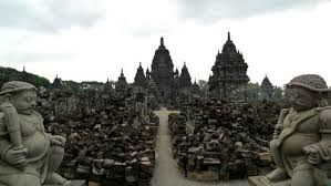 Candi Sewu Temple At Yogyakarta