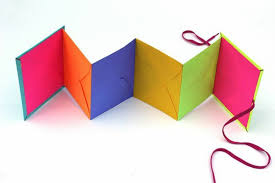 Leporello Craft DIY Projects Crafts With Paper Colored Envelopes