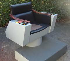 Star Trek Captains Chair by Let U0027s Talk Wood Star Trek Fans Building Their Own Personal