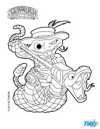 Dibujos De SKYLANDERS SWAP FORCE Para Colorear Pintar E Imprimir