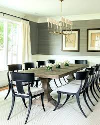 Linear Dining Room Chandeliers Chandelier Black Chairs Transitional