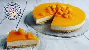 mango frischkäse torte i no bake i ohne backen i kühlschranktorte i mangotorte