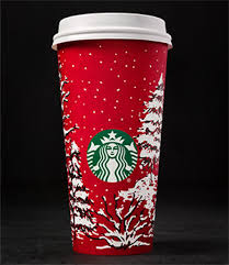 Drawn Starbucks Red Cup 3