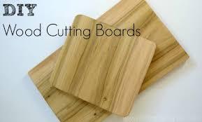DIY Wood Cutting Board
