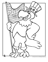 Flag Day Coloring Pages Page Classroom Jr