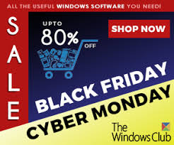 Black Friday And Cyber Monday Black Friday Cyber Monday 2017 Software Deals Special Offers