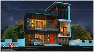 104 Contemporary Modern Floor Plans European House Kerala Model Home