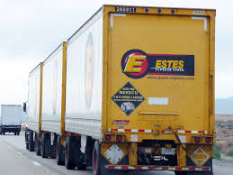ESTES Triple Trailer Truck | Estes Express Lines, Founded In… | Flickr