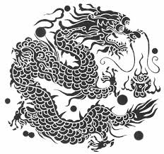 Chinese And Japanese Tribal Dragon Tattoos Tattoo 9