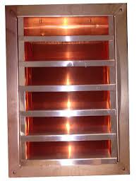 copper vents copper wall vents copper roof vents luxury metals