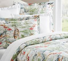 Pottery Barn Master Bedroom by Winter Forest Duvet Cover U0026 Sham Pottery Barn For The Home