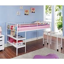 Canwood Whistler Junior Loft Bed White by Twin Bunk Loft Bed With Desk Home Beds Decoration