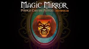 Walking Dead Pumpkin Designs by Magic Mirror Pumpkin Pattern By Zombiepumpkins Com Youtube