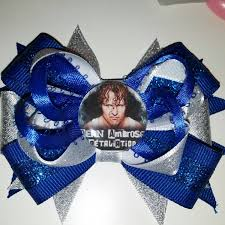 Wwe Divas Cake Decorations by Wwe Wrestling Roman Reigns Hair Bow With Alligator Clip