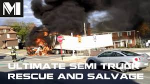 ULTIMATE Semi Truck Rescue And Salvage - CRAZY Truck Recovery ... Salvage Ford Trucks Atamu Heavy Duty Freightliner Cabover Tpi Ray Bobs Truck Fld120 Coronado Intertional 4700 Low Profile Isuzu Engine Blown Problems And Solutions Sold Nd15596 2013 Dodge Ram 1500 4dr 4wd 57 Automatic 1995 Volvo Wia F250 Sd 2006 Utility Bed Super Title Pittsburgh Beautiful Pinterest Trucks And Cars Old Mack Yard Preview Various Pics