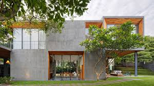 100 Outside House Design Pivoting Doors Offer Breezes At Tamara Wibowos Indonesian Home