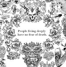 People Living Deeplybr Have No Fear Of Death More Coloring Pages Zen