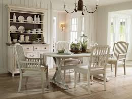Fascinating Country Cottage Kitchen Table Using Shabby Chic Style Above Rustic White Oak Hardwood Flooring Also
