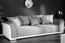 canapé gris et blanc pas cher photos canapé convertible gris