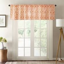 Bed Bath And Beyond Curtains And Valances by Buy Orange Curtains Valances From Bed Bath U0026 Beyond