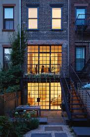 100 Lang Architecture Carroll Gardens Townhouse ArchDaily