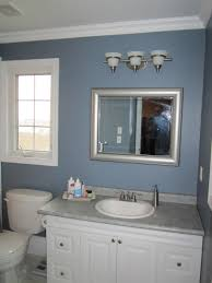 lighting l three fixture ideas with above mirror wash