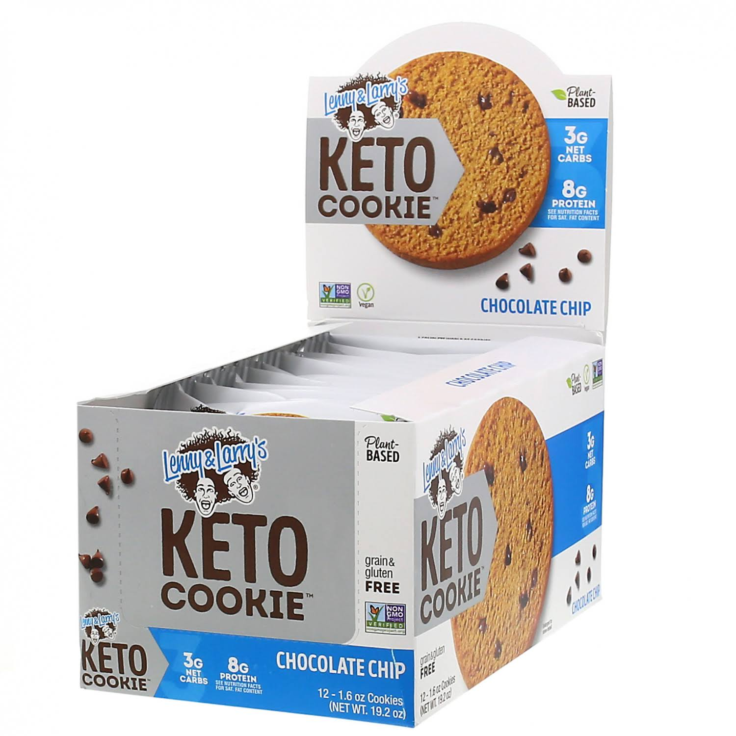 Lenny & Larry's Keto Cookie, Chocolate Chip, 12 Cookies