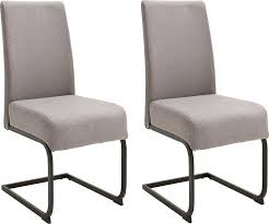 mca furniture esszimmerstuhl esteli 2er set stoffbezug feingewebe stuhl belastbar bis 120 kg kaufen otto