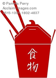0515 1006 1802 4837 chinese food take out carton and chopsticks