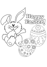Image Gallery Easter Coloring Pages Kids