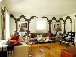 Decorating High Walls Creative Inspiration Ideas For Large Wall In Living Regarding
