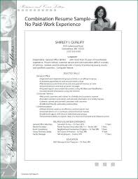 Ojt Resume Sample No Work Experience Feat Resumes On Info In Order Of