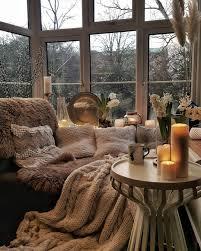 interior frühling wohnzimmer cozy hygge home