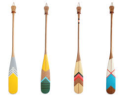 decorative oars and paddles design work painted canoe paddles outdoor pursuits