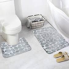 arkmiido badezimmermatte rutschfest badematte badteppich