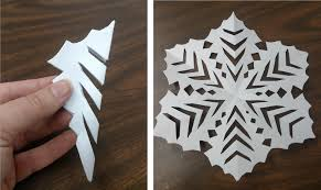 Step 6 Cut Your Design There Is No Right Or Wrong Way To A Snowflake Straight Lines Are Much Easier Than Curved Ones So I Lean Toward