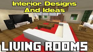 Minecraft Kitchen Ideas Youtube by Minecraft Living Room Designs Youtube