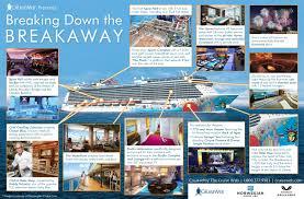Norwegian Jewel Deck Plan 5 by Norwegian Breakaway Cruise Ship 2017 And 2018 Ncl Breakaway