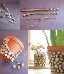 DIY Flowerpots Decoration Diy Home Craft Ideas Tips Handmade