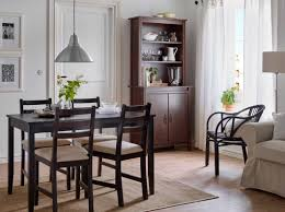 Ikea Dining Room Chair Covers by Ikea Dining Room Furniture Polished Small Black Wood Dining Table