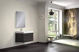 sam badmöbel set 2 tlg parma hochglanz schwarz softclose badezimmermöbel waschplatz 70 cm mineralgussbecken spiegel