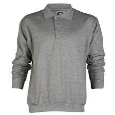 e22 mens kam jeans k504p plain collared button up polo sweatshirt