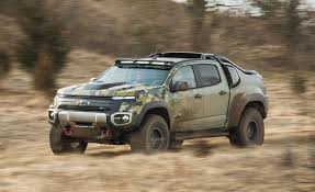 100 Chevy Military Trucks For Sale Chevrolet Colorado ZH2 Prototype First Ride Review Car And Driver