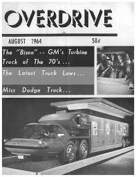GM Bison - Ovedrive Aug'64 Cover | Concept Cars Imagery | Pinterest ...