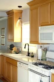 pendant light sink kitchen sink hanging lights how many