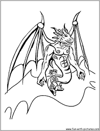 Blue Dragon Coloring Pages