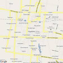 Map Of Yogyakarta Indonesia