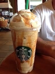 Caramel Frappuccino Extra Shot Expresso