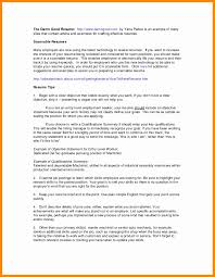 Tech Support Resume Samples Inspirational Customer Service Sample Fresh Summary Qualifications