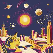 Vintage Space Posters